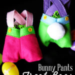 Felt Bunny Pants Treat Bags