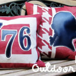 Patriotic Outdoor Pillows