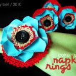 Coke Can Flower Napkin Rings