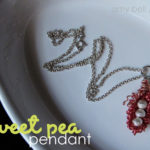 Wire Pea in a Pod Necklace