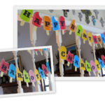 How to make party garlands and hats