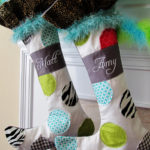 These whimsical Christmas stockings at Positively Splendid are so fun! Full pattern included.