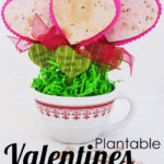 Homemade Seed Paper Valentines