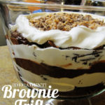 A Love Story + Food (Chapter 7) – Decadent Brownie Trifle