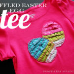 Ruffled Easter Egg Tee Tutorial