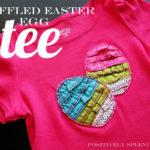 Ruffled Easter Egg Tee Tutorial