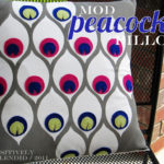 Mod Peacock Pillow Tutorial