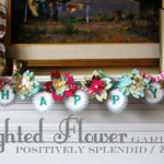 Lighted Flower Garland Tutorial