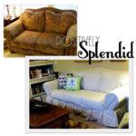 Ugly Sofa Slipcover Giveaway!