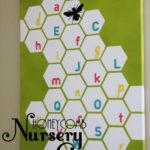 Honeycomb Nursery Wall Canvas Tutorial