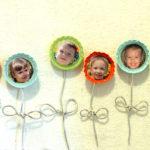 Bottle Cap Flower Magnets (Swell Noel #15)