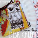 Memory Book Desk Calendar (Swell Noel #14)