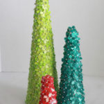 By the Dozen: Topiary Christmas Trees