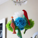 How to Make a Pom Pom Baby Mobile {Tutorial}