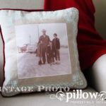 Vintage Photo Pillow Tutorial