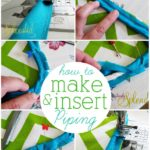How to make and insert custom piping. Pictures to guide you every step of the way!