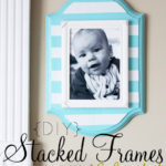 DIY Stacked Wall Frames