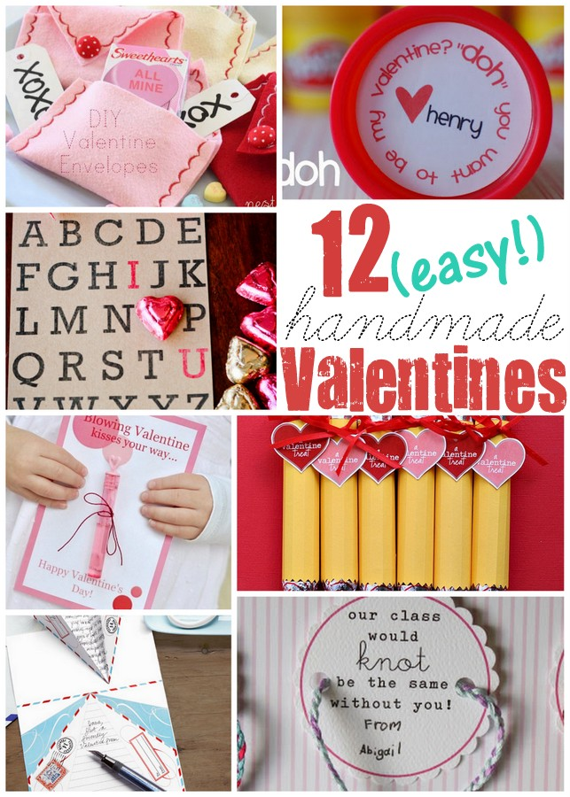 12 unique and easy handmade valentine ideas