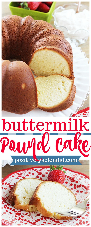 Best Buttermilk Pound Cake
