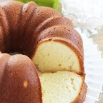 Buttermilk Pound Cake Recipe