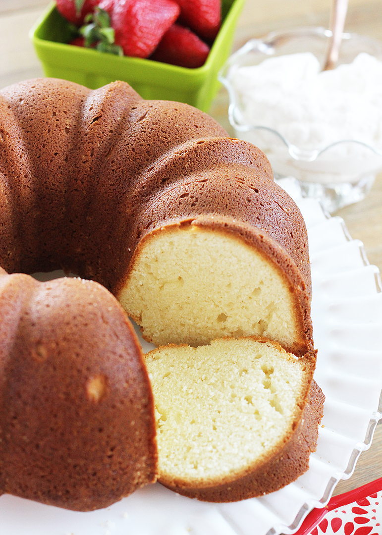 Pound Cake Recipe For  Cup Bundt Pan