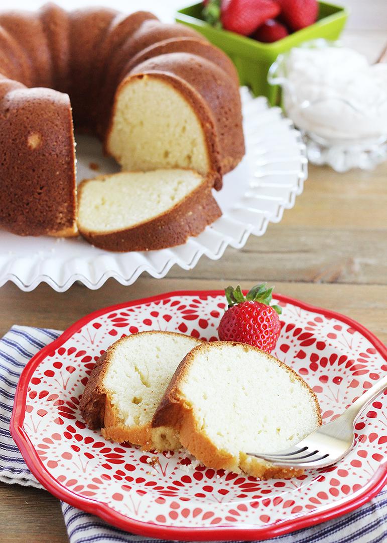 Buttermilk Pound Cake In Bundt Pan