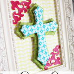 Framed Dimensional Easter Cross Tutorial