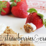 Tangy Strawberries and Cream