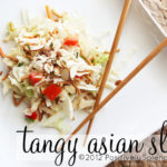 Tangy Asian Slaw