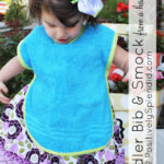 Toddler Bib & Smock Pattern
