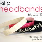 No-Slip Headband Tutorial