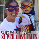 Easy Family Superhero Costumes