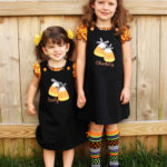 Candy Corn Halloween Jumpers