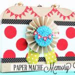 Paper Mache Memory Box
