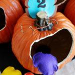 Pumpkin Bean Bag Toss Game