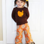 Little Girl Thanksgiving Outfit (Silhouette Promo)