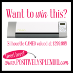 Silhouette CAMEO Giveaway!
