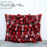 Plaid Ruffle Pillow (Swell Noël #11)