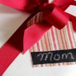 Chalkboard and Fabric Gift Tags (Swell Noel #4)