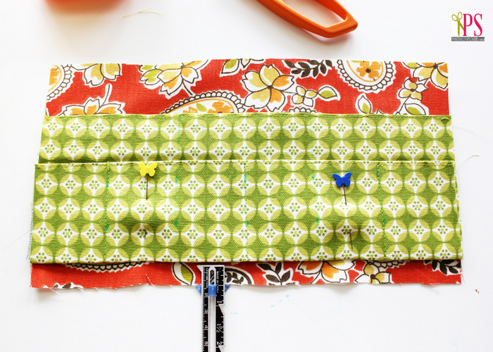 How to sew a small first aid kit to take on the go