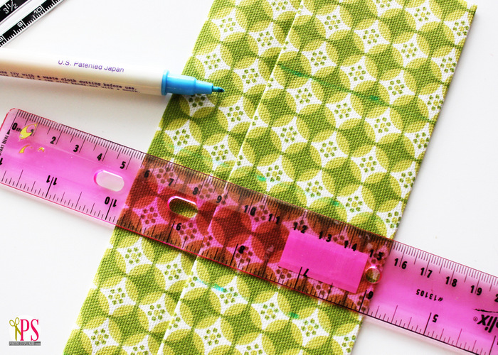 Portable first aid kit sewing tutorial