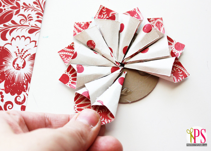 Rolled Paper Homemade Christmas Ornaments Positively Splendid