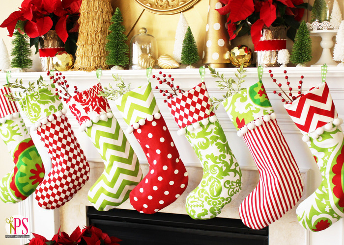 once - Christmas Stocking Design Ideas