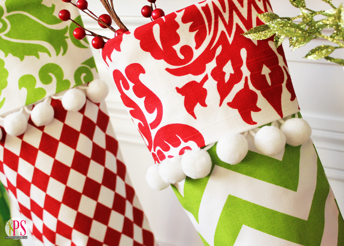 Red Gold And Lime Christmas Mantel Decor Www