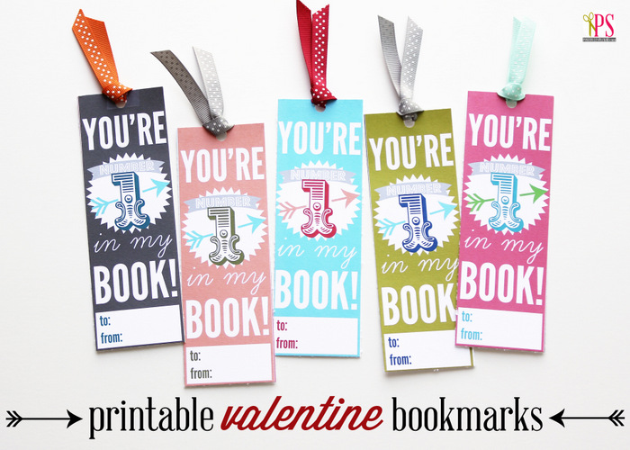 photograph regarding Printable Valentine Bookmarks named Printable Valentine Bookmarks