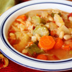 Delicious 150-Calorie Vegetable Soup