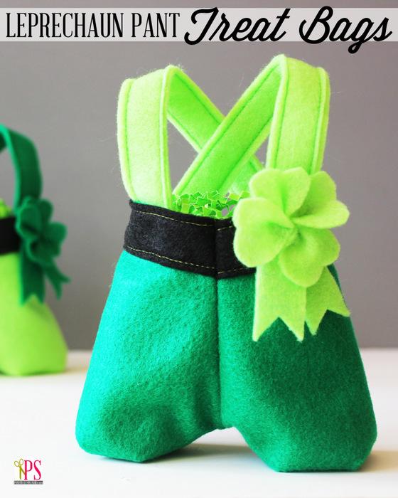 妖精裤子治疗袋|轻松的圣帕特里克节装饰|缝纫项目|精选