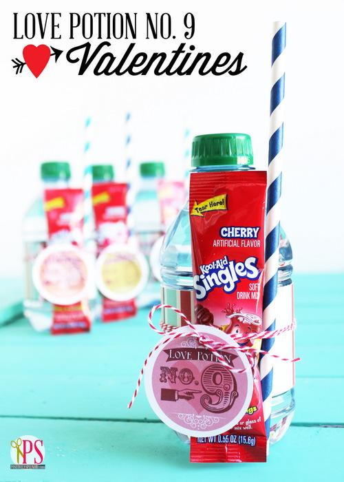 Kool-Aid Valentine Printables @michellepaigeblogs.com