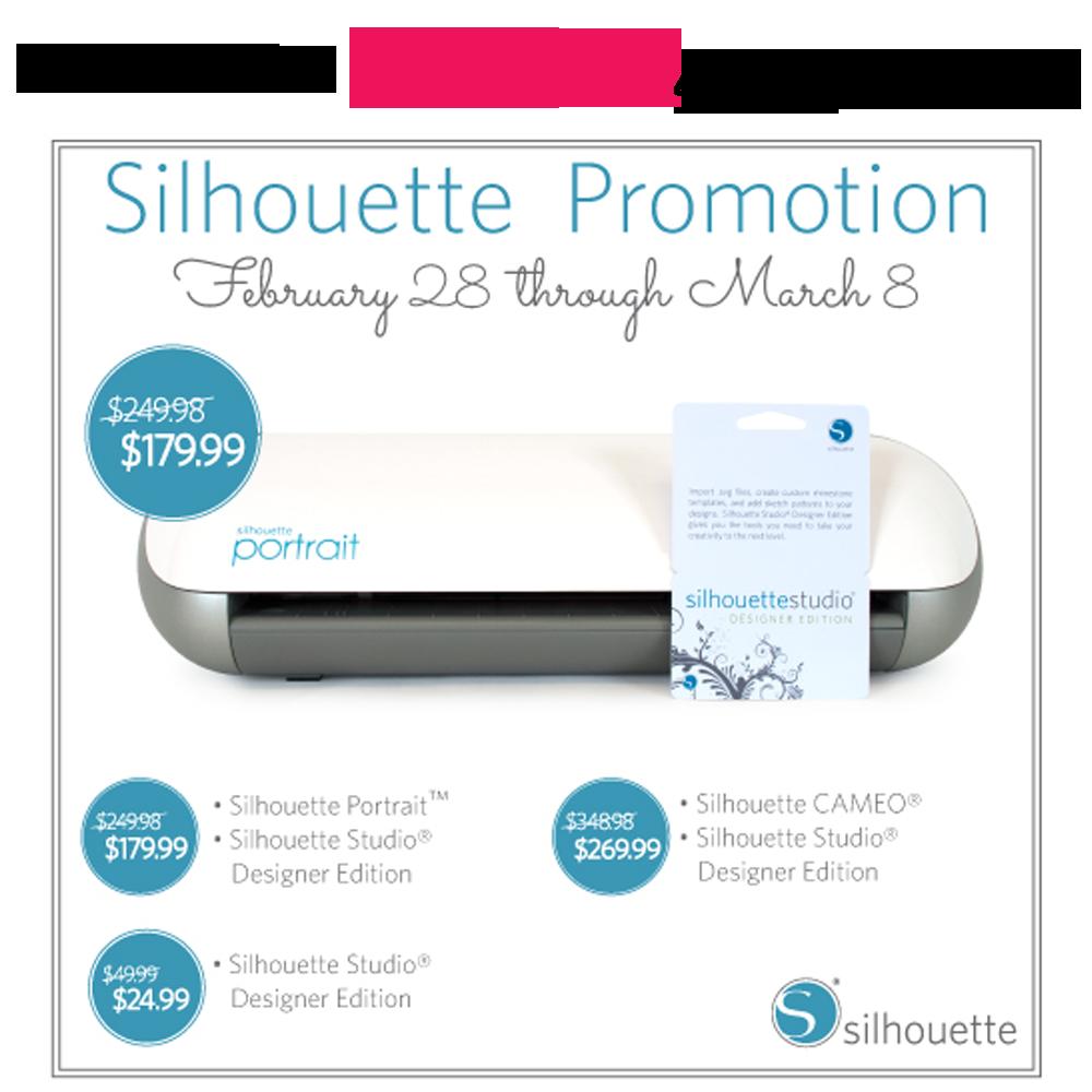 Silhouette March Promotion :: PositivelySplendid.com