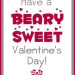 """""""Beary"""" and """"Berry"""" Sweet Valentine Printables"""